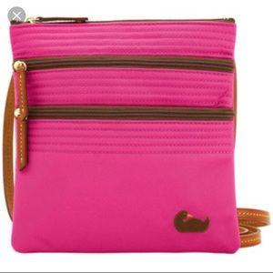 💗Dooney & Bourke Pink Crossbody Bag